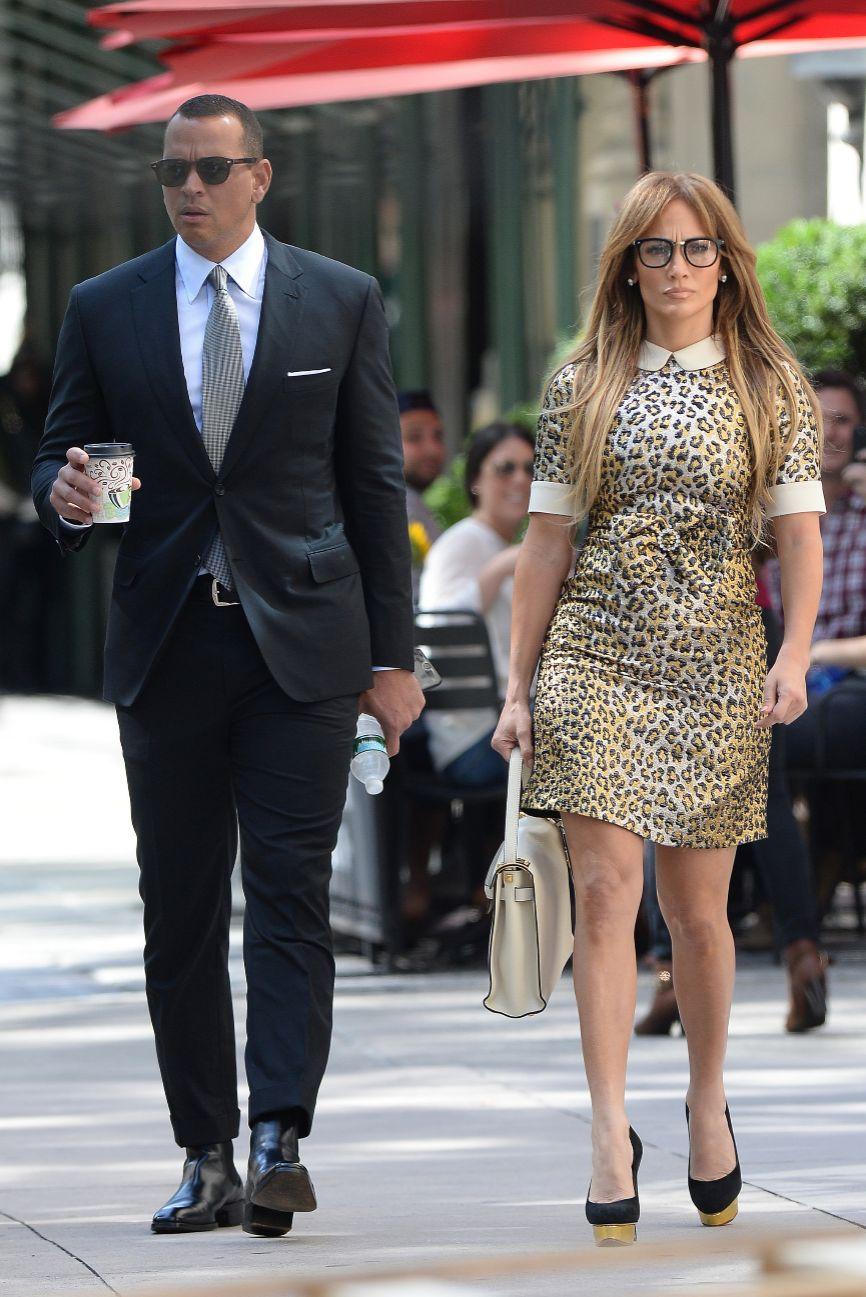Jennifer Lopez y Alex Rodriguez buscan casa en Nueva York  Locfamosos  EL MUNDO