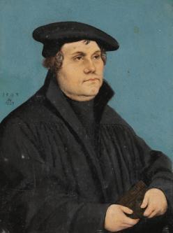 Ejemplo de eneatipo 1: Lutero