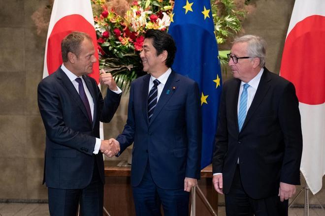 Resultado de imagen para Fotos preparativas de La Unión Europea y Japón
