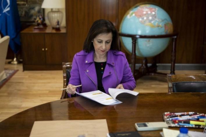 Margarita Robles, en su despacho.