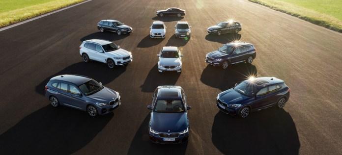 The BMW 'plug-in' fleet.