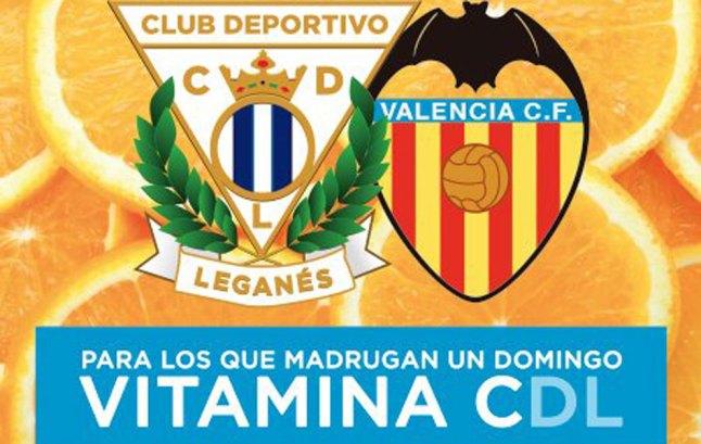 El nuevo cartel del Leganés para anunciar el partido del próximo...