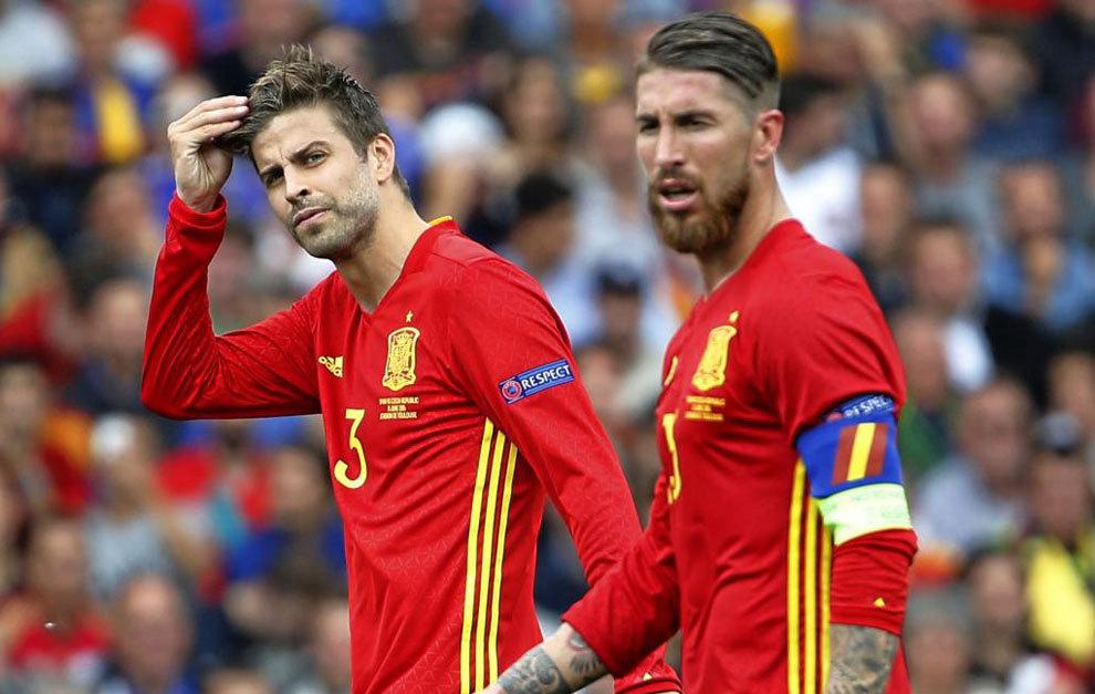 Sergio Ramos pide al Bernabéu