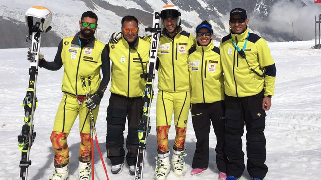 Miguel Galindo, Hilario Sánchez (skiman), Jon Santacana, Andrea...