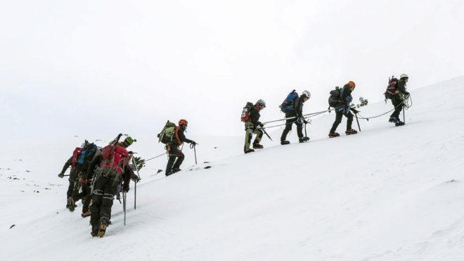 Expedición Curso Superior de Montañismo para Ciegos y Adaptado de la...
