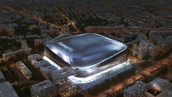 Risultati immagini per new stadium bernabeu
