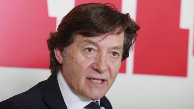 José Ramón Lete durante una entrevista en la redacción de MARCA.