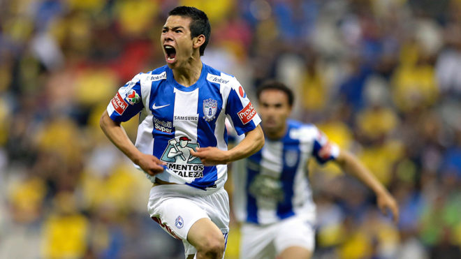 Image result for hirving lozano pachuca debut