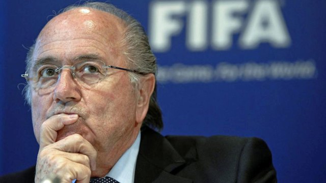 Blatter, in a file image