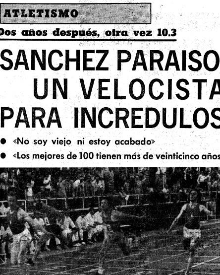 Fallece José Luis Sánchez Paraíso, el hombre de los 52
