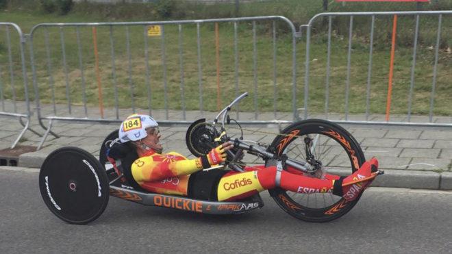 Sergio Garrote, durante una competición.