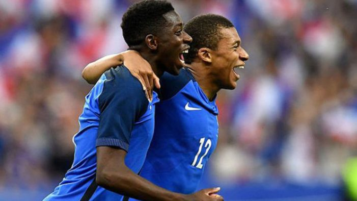 Mbappe: I told Dembele not to think twice about joining Barcelona ...