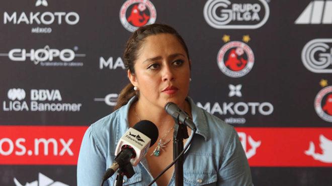Melissa Nuñez es cesada de Veracruz.