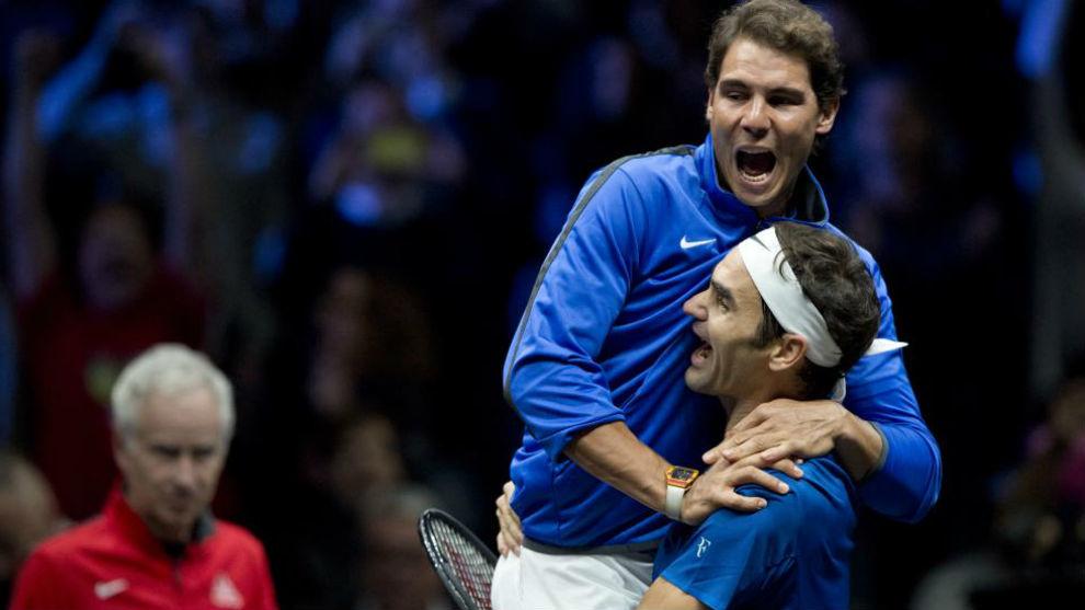 Nadal y Roger