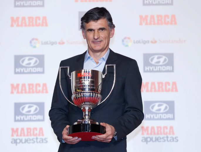 Jose Luis Mendilibar, Miguel Munoz Award