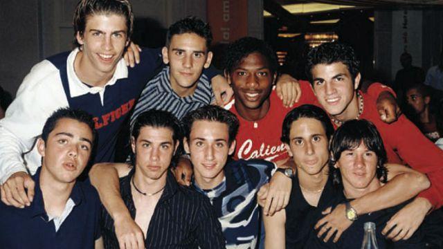 FC Barcelona: Messi, Piqué y Cesc: aquella gran generación del 87 ...