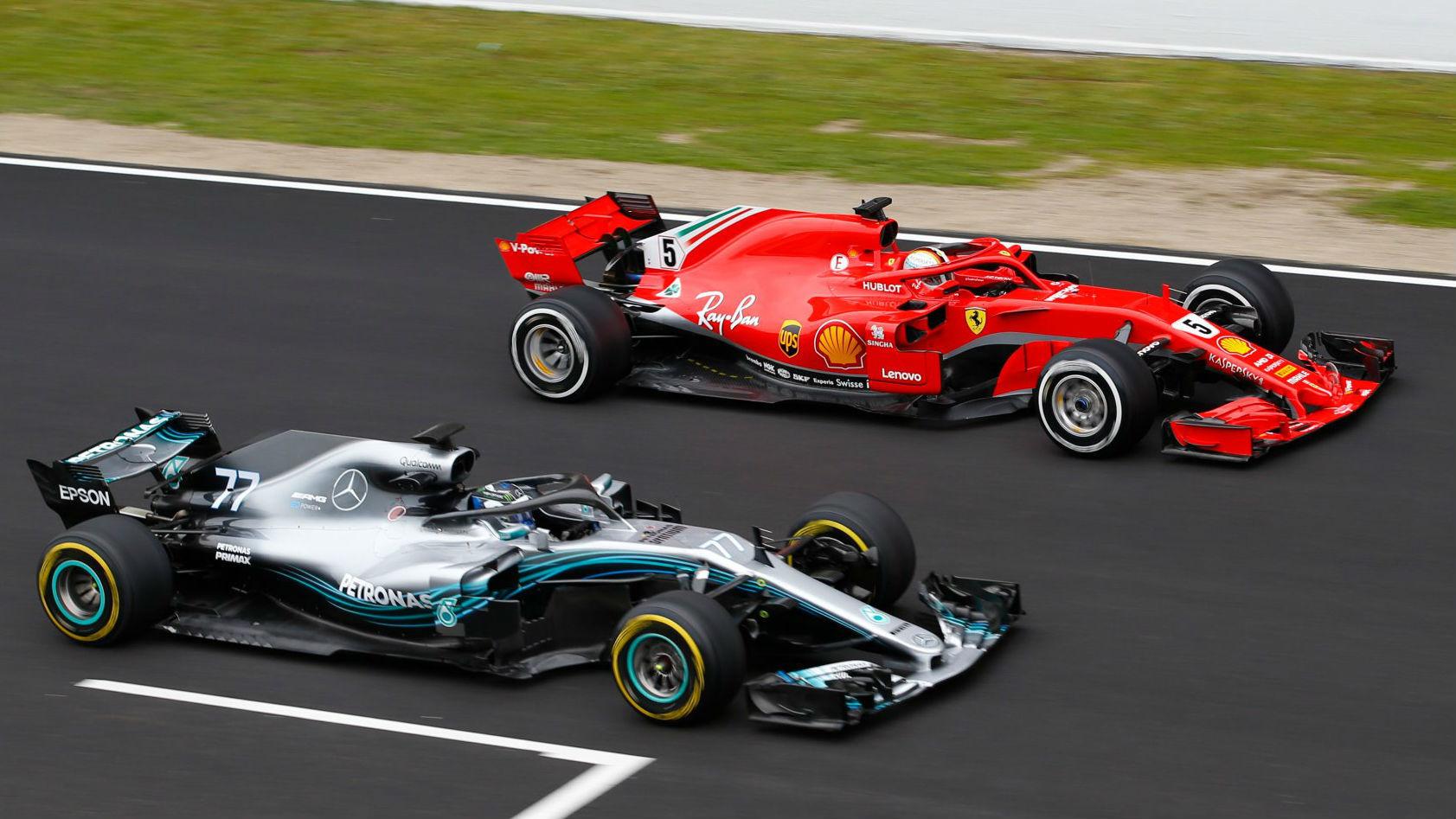 Test Formula 1 2018 Mercedes Y Ferrari Ponen Orden
