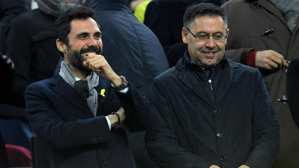 FC Barcelona Bartomeu quotEl Madrid empez discreto pero