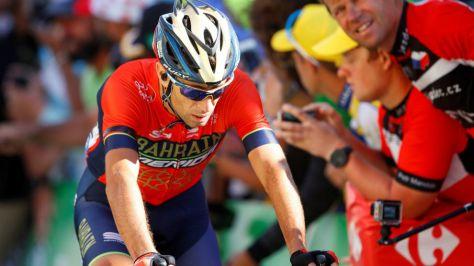 El italiano Nibali, en el pasado Tour de Francia