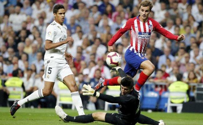 Laliga Santander Real Madrid Vs Atletico Madrid