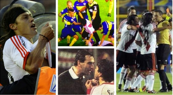 The best fights from the Superclasico