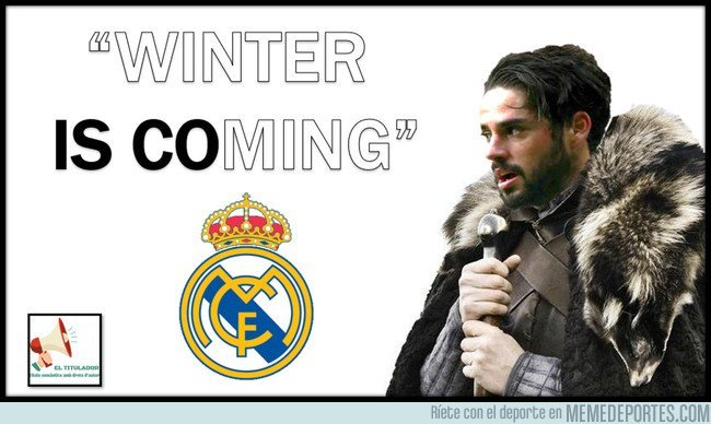 Winter is coming. 1