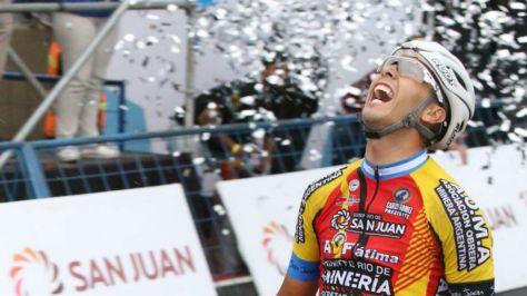 Germán Nicolás Tivani logra un triunfo a lo grande en su tierra de...