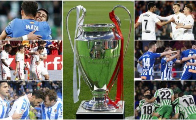 Laliga Santander Champions League Dream How Many Points
