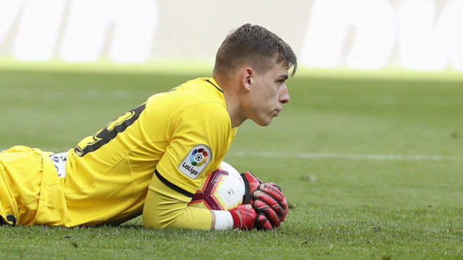 Lunin has a busy schedule.