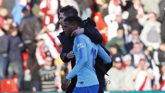 VIDEO: ¡Simeone y Del Bosque alaban la calidad de Lemar! 1