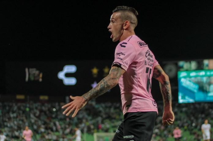 4.- Brian Lozano | Santos | 7 goles