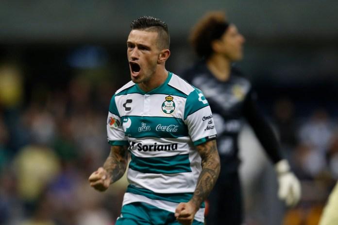 6.- Brian Lozano | Santos | 8 goles
