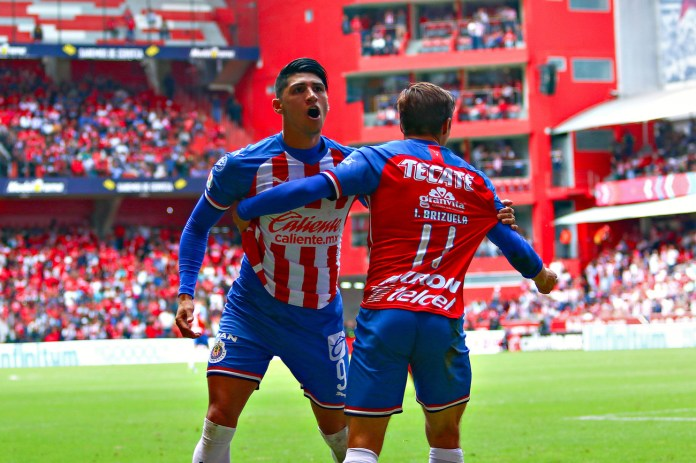 5.- Alan Pulido | Chivas | 9 goles