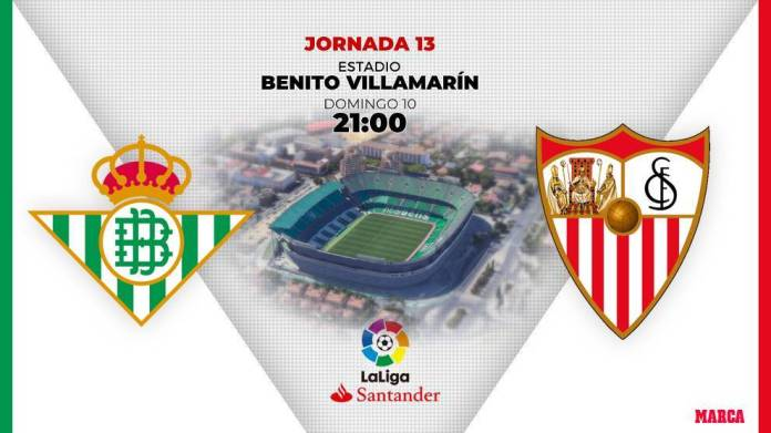 Derbi Betis vs Sevilla: Schedule and d