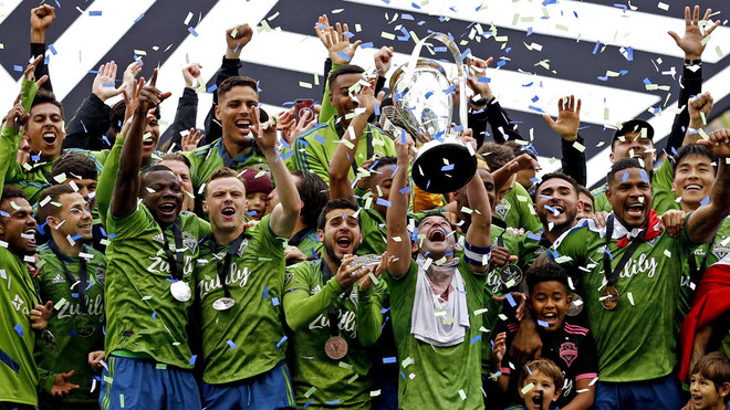 The Sounders enjoy their second scepter in the MLS.