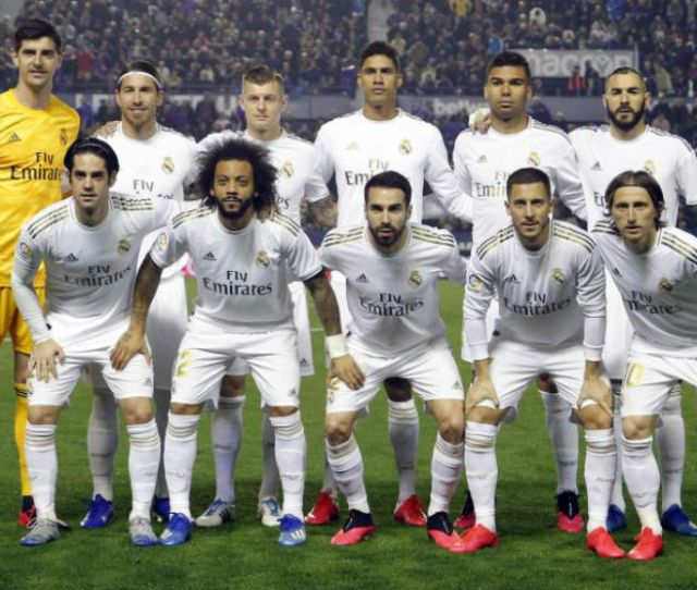 Real Madrid Real Madrids Old Guard Are Once Again Under