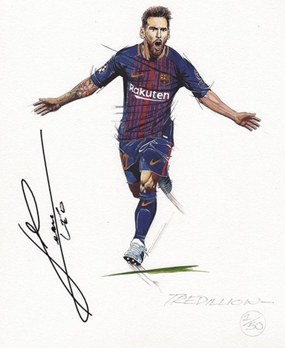 Dibujos De Messi : dibujos, messi, Coronavirus, Barcelona:, Dibuja, Retrato, Perfecto, Messi, Cinco, Pasos..., Atreves?, Marca.com