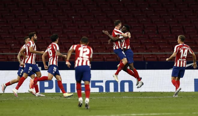 GRAF8400. MADRID, 27/06/2020.- El centrocampista del lt;HIT gt;Atl
