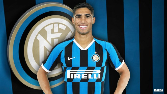 Real Madrid: Official: Achraf Hakimi completes transfer from Real Madrid to  Inter | MARCA in English