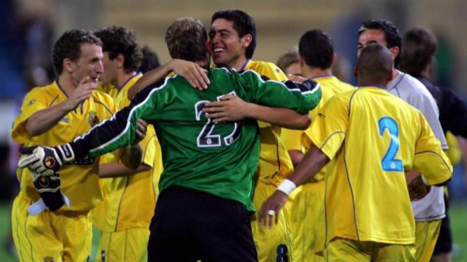 Wl Villareal logró conquistar una Intertoto venciendo en la final al Atlético de Madrid