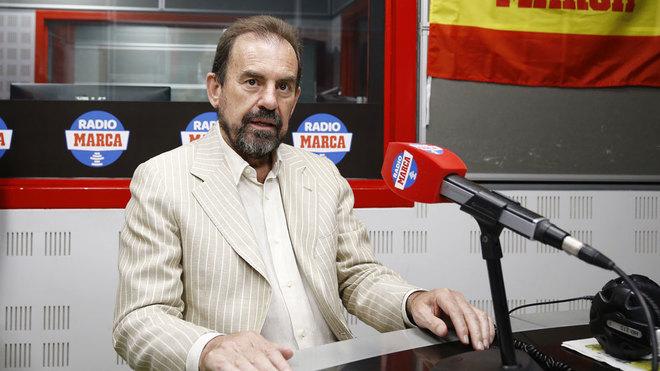 Ángel Torres, en una imagen de archivo durante una visita a Radio ...