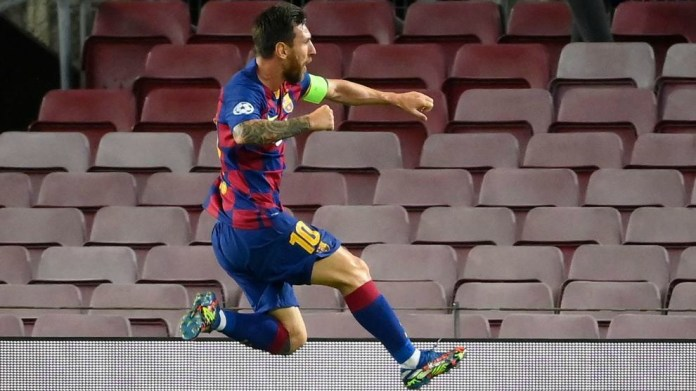 Messi against Europe: He makes up for all of Barcelona's deficiencies
