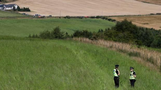 Un tren se descarriló al noreste de Escocia