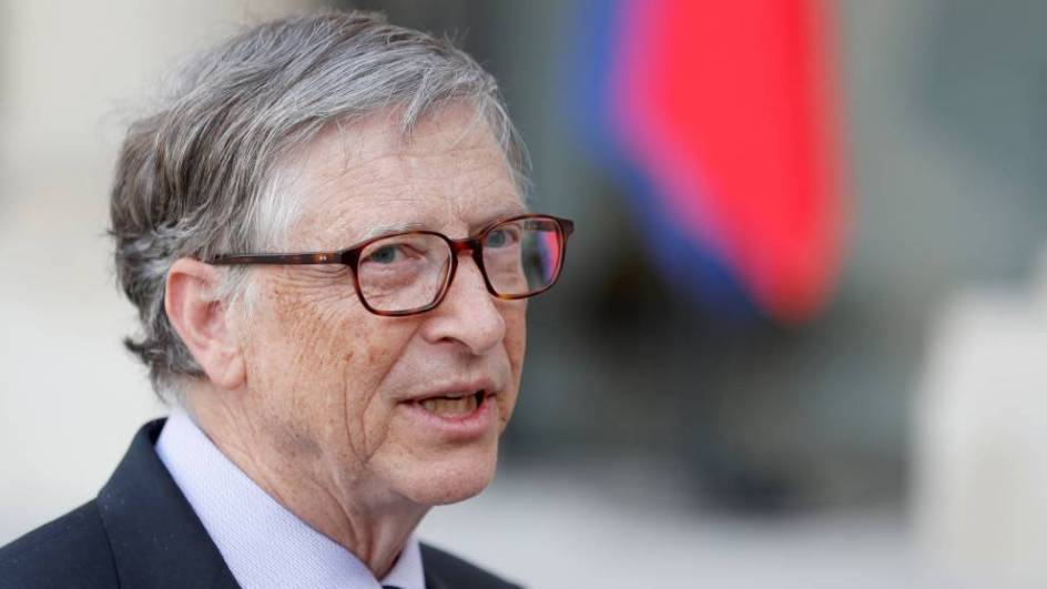 Bill Gates está muy volcado en la lucha contra el virus.