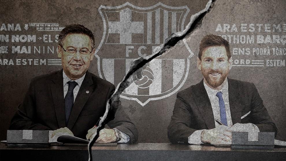 Barcelona: Messi vs Barcelona: It's war! | MARCA in English