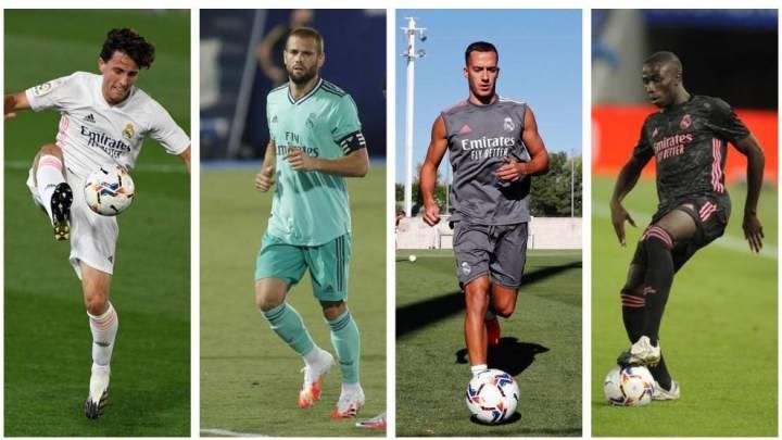 Zidane's options to replace Carvajal: Odriozola, Nacho, Vazquez and Mendy