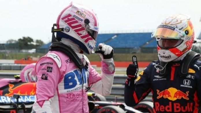 Nico Hulkenberg y Max Verstappen.