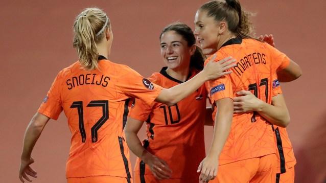 Eurocopa femenina: Países Bajos y Alemania logran la clasificación para la  Eurocopa de 2022   Marca.com