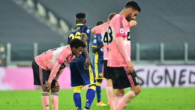Juventus vs Hellas Verona La Juventus deja dos puntos ante el Hellas Verona  antes de recibir al Barcelona - Serie A: