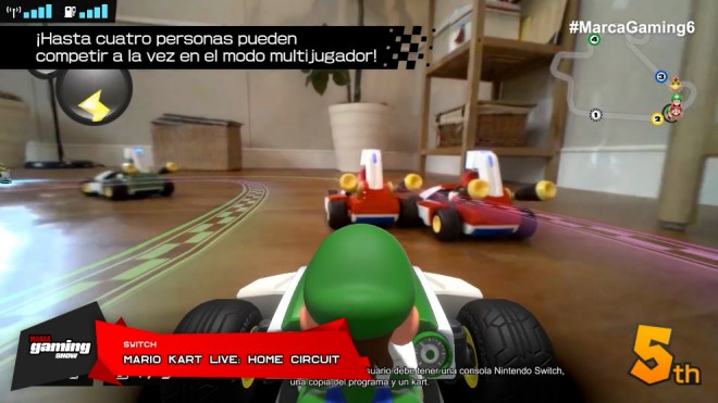 Mario Kart Live: Circuito de casa (INTERRUPTOR)